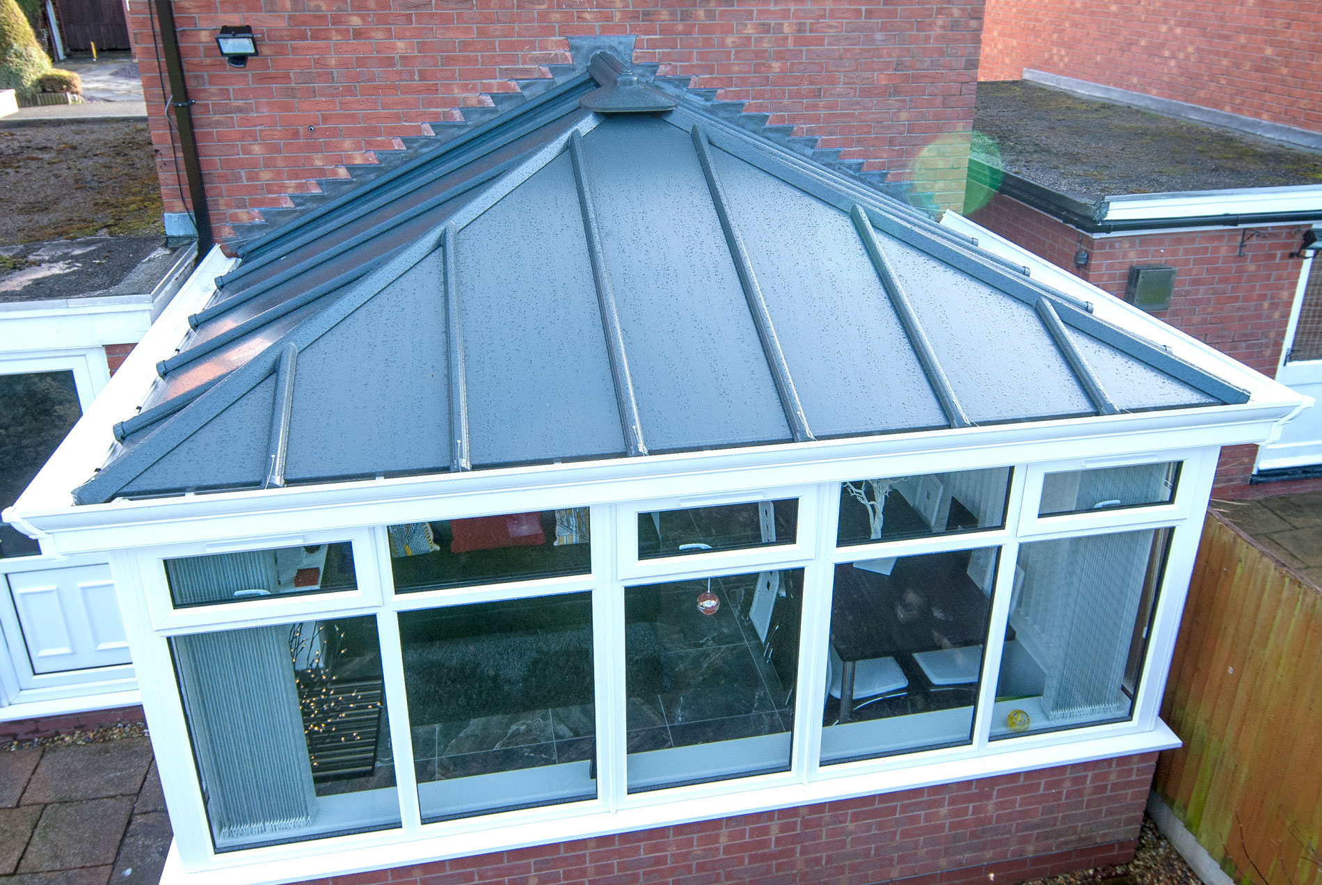 Conservatory Solid Roof Replacement Roof St Helens Roofing