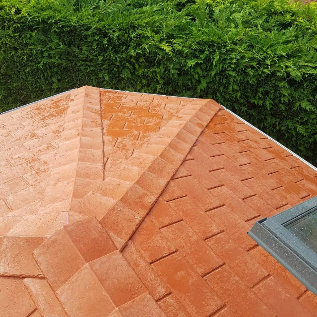 Solid Roof Tile Repair