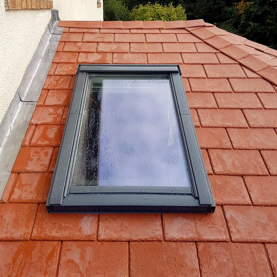 Velux Window and tile repair